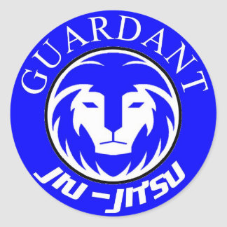 Guardant BJJ stickers