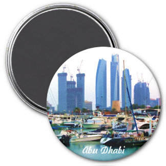 Guarded Marina 7.5 Cm Round Magnet