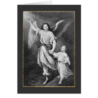 Guardian Angel And Child Card
