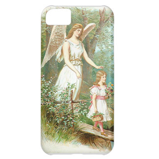 Guardian Angel And Girl iPhone 5C Covers