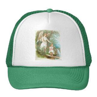Guardian Angel And Girl Hat