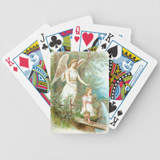 Guardian Angel And Girl Poker Deck