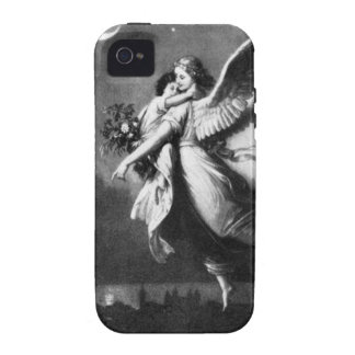 Guardian Angel At Night iPhone 4 Cover