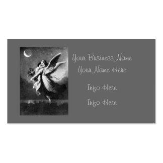 Guardian Angel At Night Pack Of Standard Business Cards