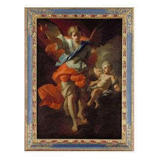 Guardian Angel, c.1685-94 Postcard