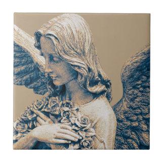 Guardian Angel Ceramic Photo Tile