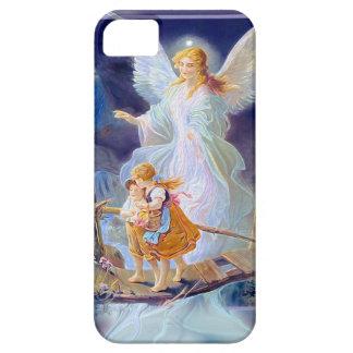 Guardian Angel, Children and Bridge iPhone 5 Covers