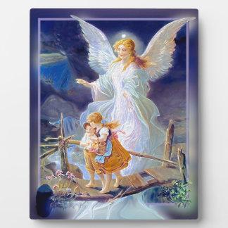 Guardian Angel, Children and Bridge Plaque