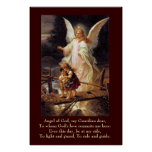 Guardian Angel, Children, Bridge Print