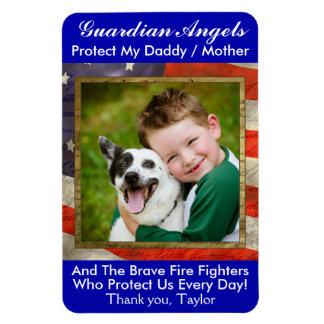 Guardian Angel - Fire Department Magnet