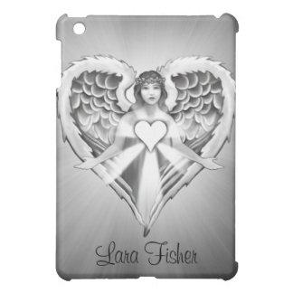 Guardian Angel Heart Wing Design) iPad Mini Case