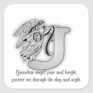 a letter to the love of my life letter j stickers zazzle au 20344 | guardian angel letter j square sticker r3f32b337b20344ffb0a04d4fd2d5627b v9wf3 8byvr 307