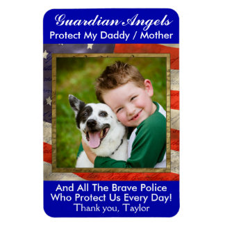 Guardian Angel Police / Military Magnet