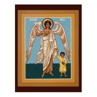 Guardian Angel Prayer Card Postcard