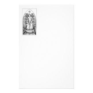 Guardian Angel Protecting Children Stationery