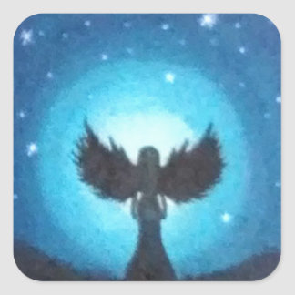 Guardian Angel Square Sticker