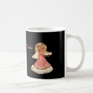 GUARDIAN ANGEL TASHA PONYTAIL CHORUS XMAS ORNAMENT BASIC WHITE MUG