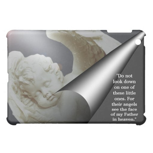 Guardian Angelic Baby Dazzling Vision iPad Case