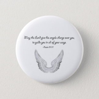 guardian angels 6 cm round badge