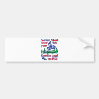 Guardian-Angle-color Bumper Sticker