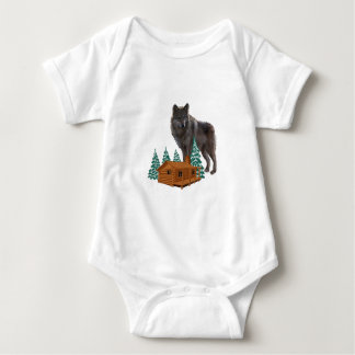 Guardian of Night Baby Bodysuit