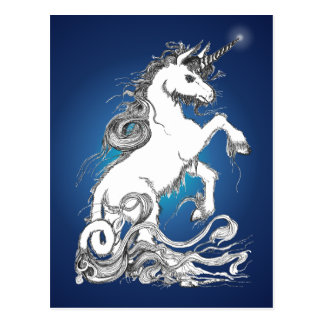 Guardian Unicorn Postcard