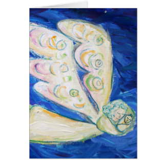 Guardian White Light Angel Note or Greeting Cards