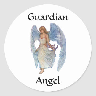 GuardianAngel Classic Round Sticker