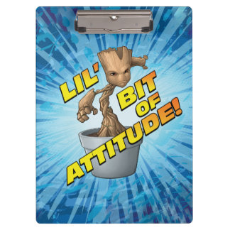 Guardians of the Galaxy | Baby Groot Attitude Clipboard