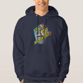 Guardians of the Galaxy | Baby Groot Attitude Hoodie