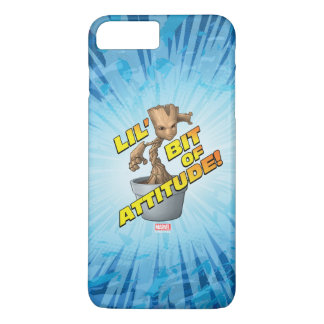 Guardians of the Galaxy | Baby Groot Attitude iPhone 8 Plus/7 Plus Case