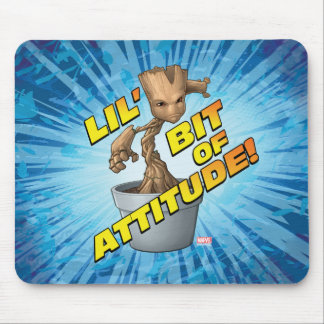 Guardians of the Galaxy | Baby Groot Attitude Mouse Pad