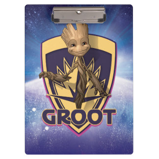 Guardians of the Galaxy | Baby Groot Crest Clipboard
