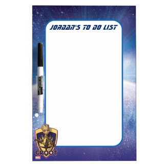 Guardians of the Galaxy | Baby Groot Crest Dry Erase Board
