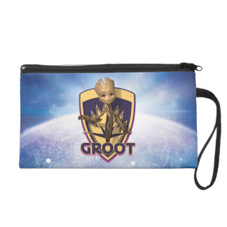 Guardians of the Galaxy | Baby Groot Crest Wristlet Clutches
