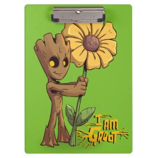 Guardians of the Galaxy | Baby Groot & Daisy Clipboard