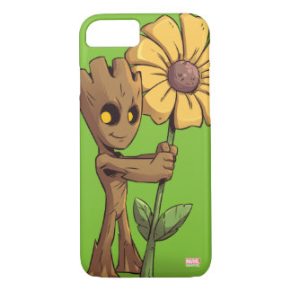 Guardians of the Galaxy | Baby Groot & Daisy iPhone 8/7 Case