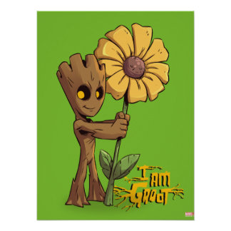 Guardians of the Galaxy | Baby Groot & Daisy Poster