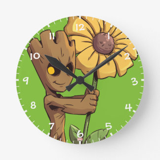 Guardians of the Galaxy | Baby Groot & Daisy Round Clock