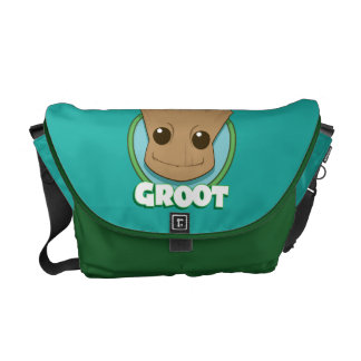 Guardians of the Galaxy | Baby Groot Face Courier Bags