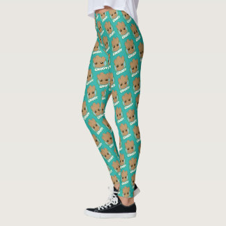 Guardians of the Galaxy | Baby Groot Face Leggings