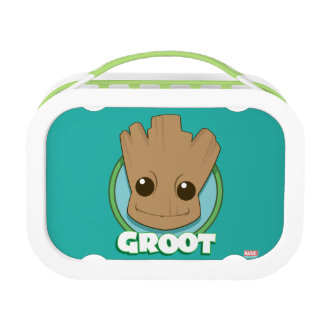 Guardians of the Galaxy | Baby Groot Face Lunch Box