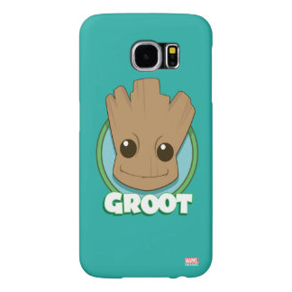 Guardians of the Galaxy | Baby Groot Face Samsung Galaxy S6 Cases