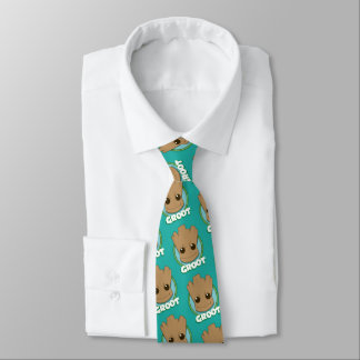 Guardians of the Galaxy   Baby Groot Face Tie