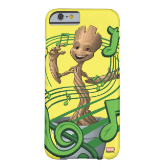 Guardians of the Galaxy | Baby Groot Music Notes Barely There iPhone 6 Case