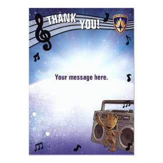 Guardians of the Galaxy Baby Groot Thank You Card