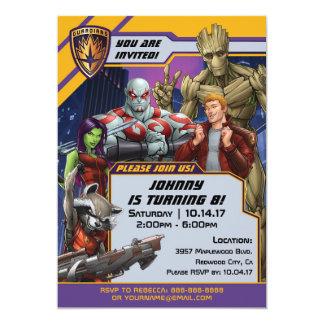 Guardians of the Galaxy Birthday Card