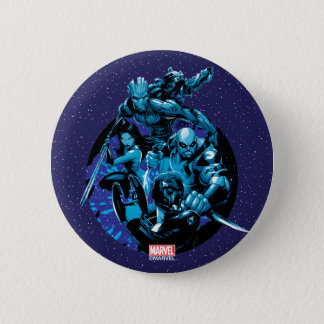 Guardians of the Galaxy | Blue Crew Graphic 6 Cm Round Badge