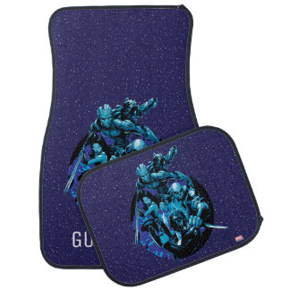 Guardians of the Galaxy | Blue Crew Graphic Car Mat