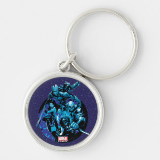 Guardians of the Galaxy | Blue Crew Graphic Key Ring